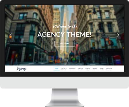 Agency Parallax Responsive HTML5/CSS3 Template | FIFO THEMES